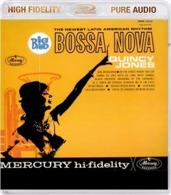 QUINCY JONES: Big Band Bossa Nova - Blu-ray AUDIO