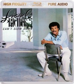 LIONEL RICHIE: Can't Slow Down - Blu-ray AUDIO