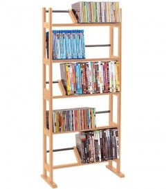 ATLANTIC MEDIA RACK ELEMENT 230 Color Maple