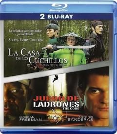 JUEGO DE LADRONES / LA CASA DE LAS DAGAS VOLADORAS