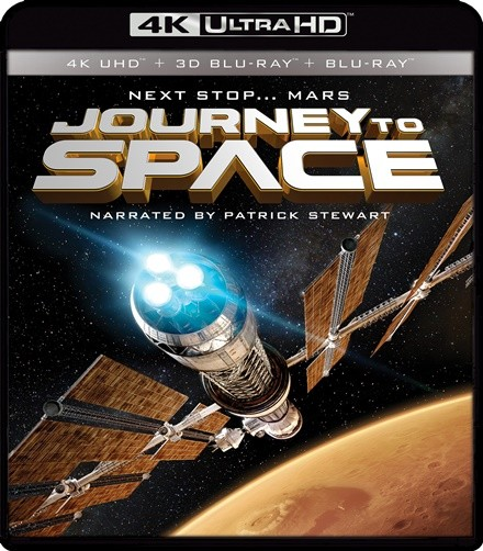 UHD 4K + 3D - IMAX: JOURNEY TO SPACE