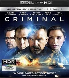 UHD 4K - CRIMINAL (2016)