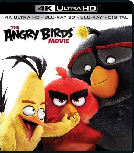 UHD 4K - ANGRY BIRDS: La Pelicula (BD+3D+4K) - USADA