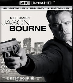 UHD 4K - JASON BOURNE