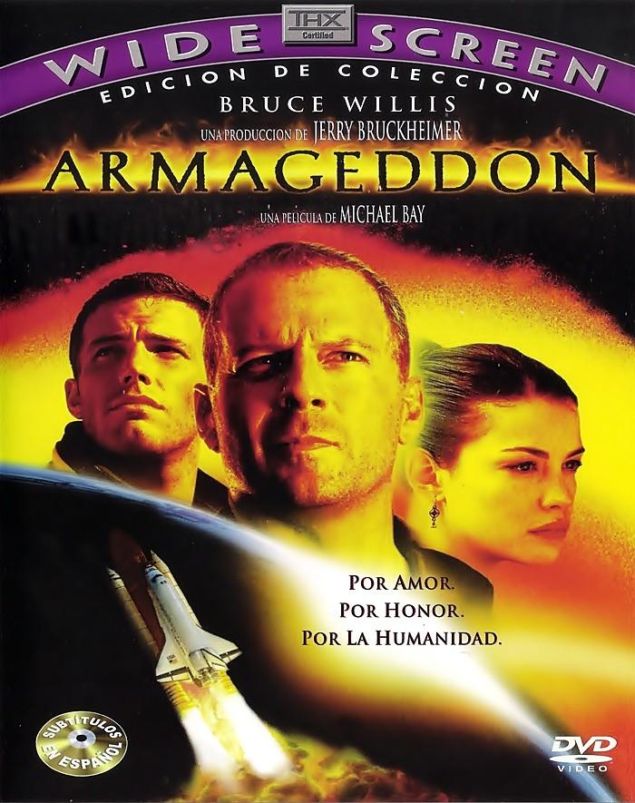 DVD - ARMAGEDDON - USADA