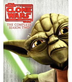 CLONE WARS 2 SEASON DVD