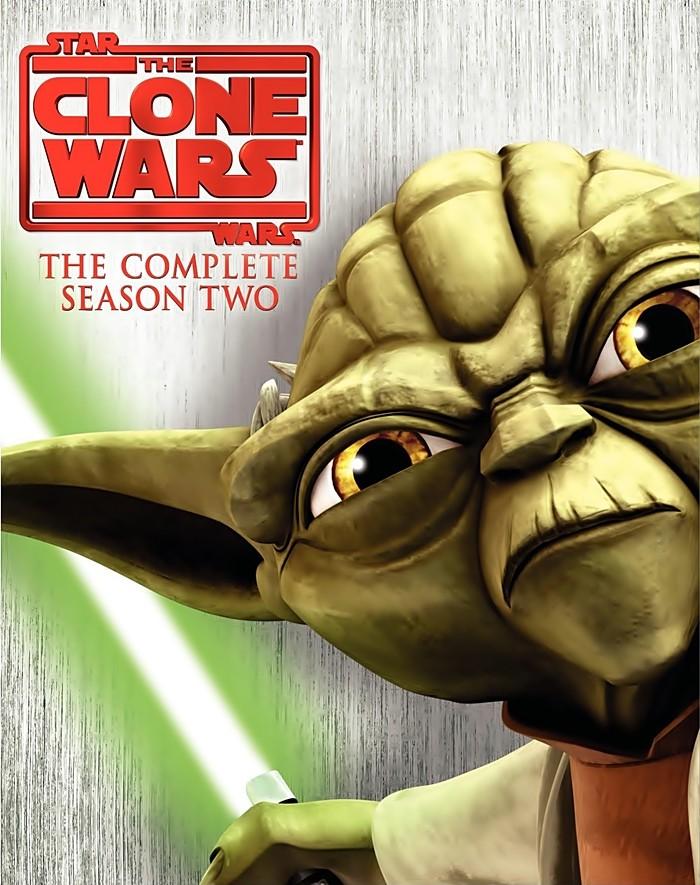 CLONE WARS 2 SEASON DVD