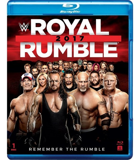 WWE ROYAL RUMBLE 2017