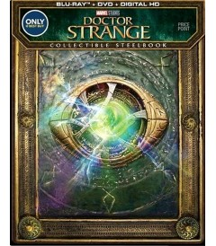 DOCTOR STRANGE (HECHICERO SUPREMO) (EDICIÓN EXCLUSIVA STEELBOOK BEST BUY) (MCU)