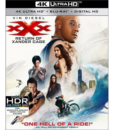 4K UHD - TRIPLE X (REACTIVADO)