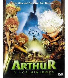 DVD - ARTHUR Y LOS MINIMOYS - USADA