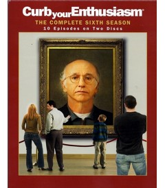 DVD - CURB YOUR ENTHUSIASM - SEXTA TEMPORADA COMPLETA - USADA