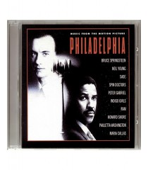 CD - FILADELFIA (MUSIC FROM THE MOTION PICTURE) - USADO