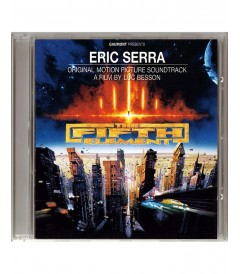 CD - EL QUINTO ELEMENTO (ORIGINAL MOTION PICTURE SOUNDTRACK) - USADO