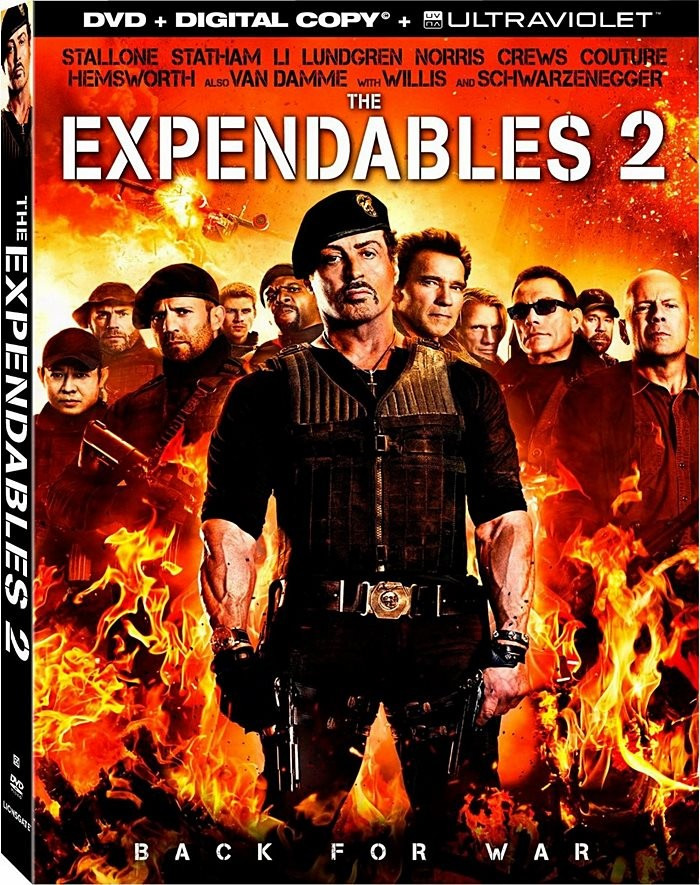 DVD - LOS INDESTRUCTIBLES 2