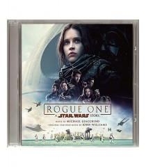 CD - ROGUE ONE (UNA HISTORIA DE STAR WARS) (ORIGINAL MOTION PICTURE SOUNDTRACK)