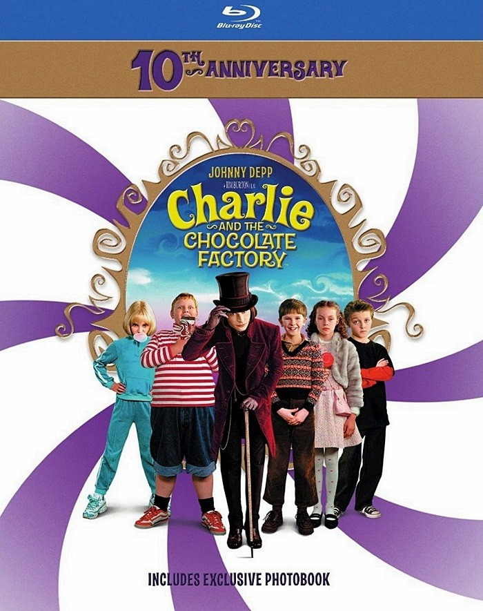 CHARLIE Y LA FÁBRICA DE CHOCOLATE (EDICIÓN 10° ANIVERSARIO)
