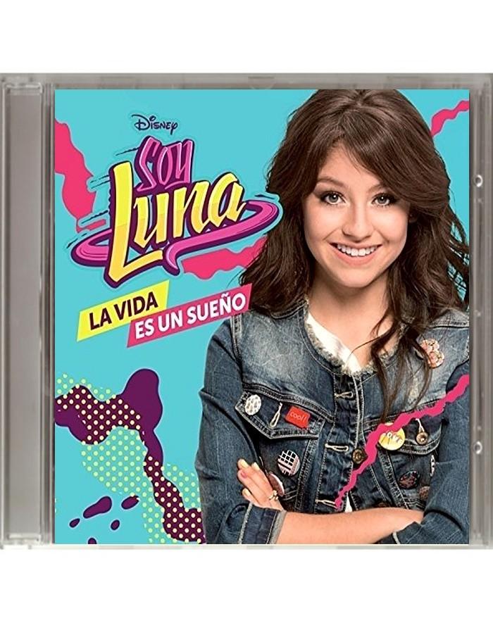 CD - SOY LUNA - LA VIDA ES UN SUEÑO