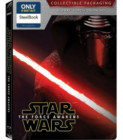 STAR WARS EPISODIO VII (EL DESPERTAR DE LA FUERZA) (STEELBOOK)