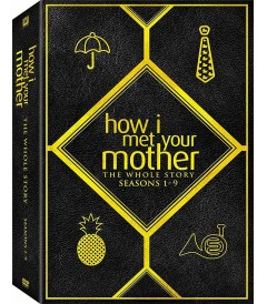 DVD - HOW I MET YOUR MOTHER - LA HISTORIA COMPLETA (TEMPORADAS 1 A 9)
