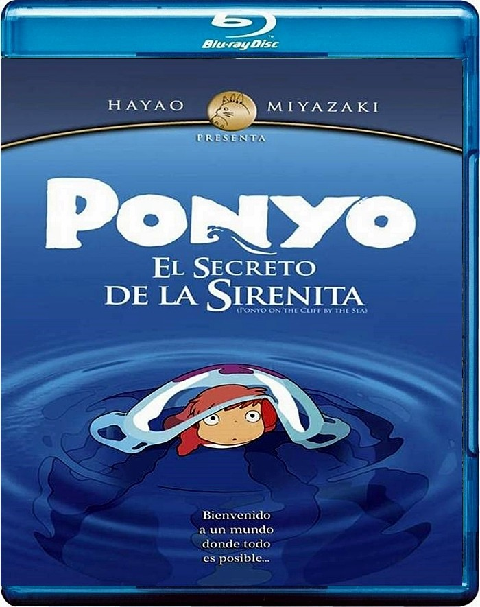 PONYO (EL SECRETO DE LA SIRENITA) (ESTUDIO GHIBLI)