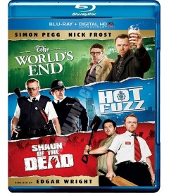 THE WORLD'S END / HOT FUZZ / SHAUN OF THE DEAD (ULTIMA TRILOGÍA TRES SABORES)