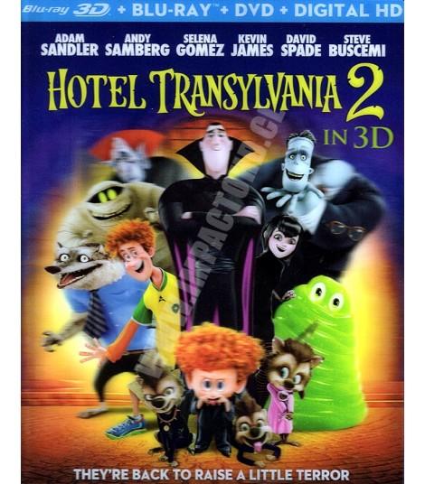 3D - HOTEL TRANSYLVANIA 2