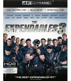4K UHD - LOS INDESTRUCTIBLES 3