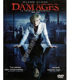 DVD - DAMAGES - 1° TEMPORADA COMPLETA - USADA