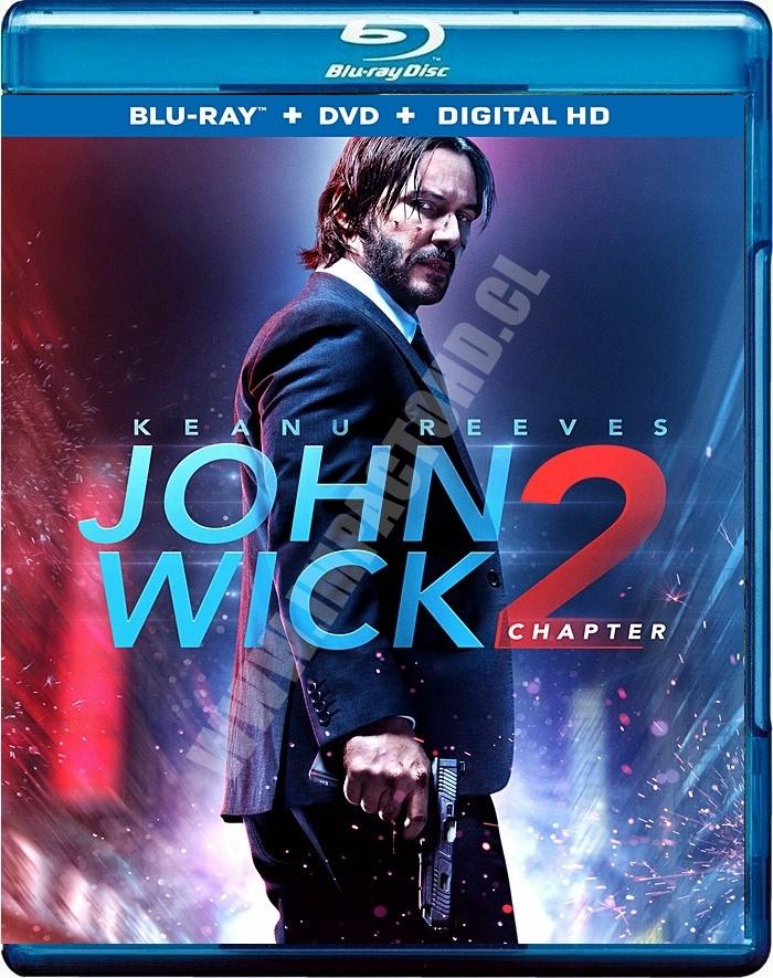 4K UHD - JOHN WICK 2 (UN NUEVO DIA PARA MATAR)