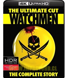 4K UHD - WATCHMEN (LOS VIGILANTES) (EL CORTE DEFINITIVO)