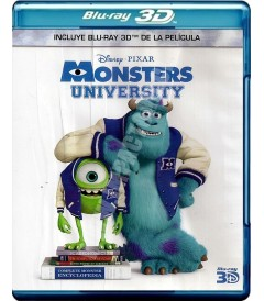 3D - MONSTERS UNIVERSITY