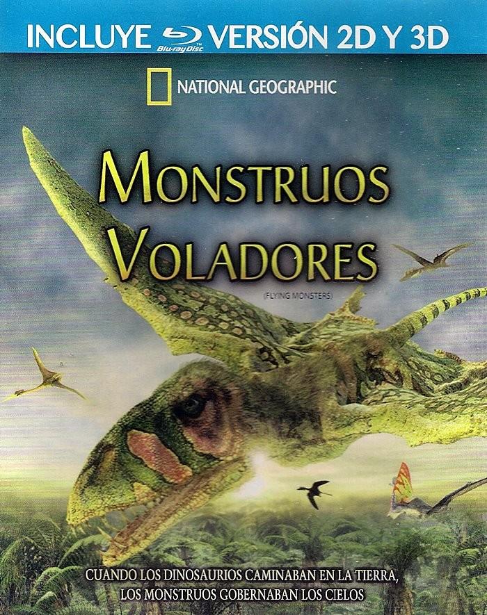 3D - MONSTRUOS VOLADORES