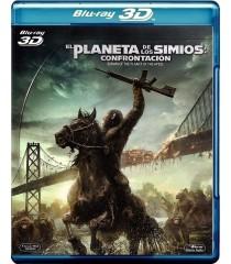 3D - EL PLANETA DE LOS SIMIOS (CONFRONTACIÓN) (*)