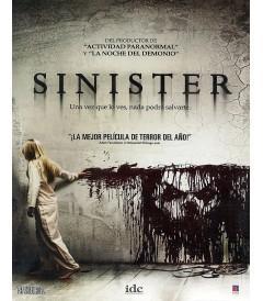 DVD - SINIESTRO - USADA