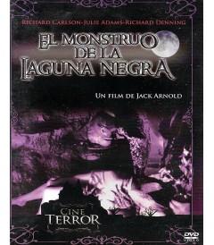 DVD - EL MONSTRUO DE LA LAGUNA NEGRA - USADA