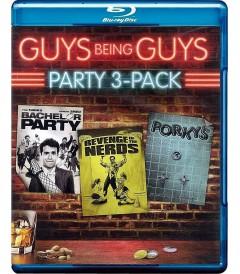 GUYS BEING GUYS PARTY (PRESENTACIÓN TRIPLE)
