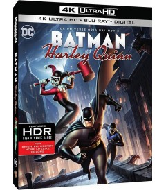 4K UHD - DC ANIMADA 30 - BATMAN & HARLEY QUINN