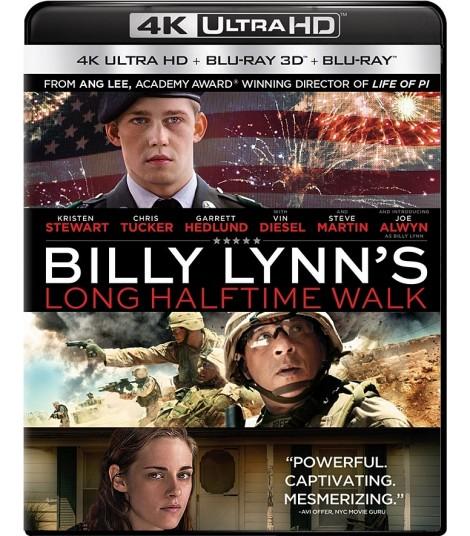 4K UHD - BILLY LYNN (LA CAMINATA DEL MEDIO TIEMPO) (EDICIÓN ESPECIAL)