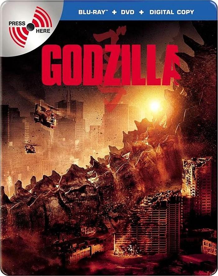 GODZILLA (EDICIÓN ESPECIAL STEELBOOK)