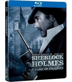 SHERLOCK HOLMES (JUEGO DE SOMBRAS) (EDICIÓN STEELBOOK)