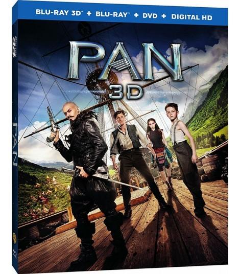 3D - PETER PAN (VIAJE A NUNCA JAMÁS)