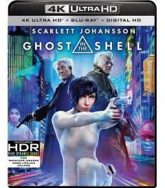 4K UHD - GHOST IN THE SHELL (VIGILANTE DEL FUTURO)