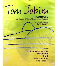 DVD - TOM JOBIM IN CONCERT (EN VIVO EN WILTERN THEATRE, LOS ANGELES) - USADA