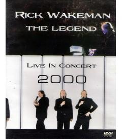 DVD - RICK WAKEMAN (THE LEGEND LIVE IN CONCERT 2000) - USADA