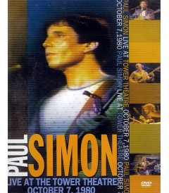 DVD - PAUL SIMON (LIVE AT THE TOWER THEATRE OCTOBER 7, 1980) - USADA