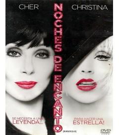 DVD - BURLESQUE (NOCHES DE ENCANTO) - USADA
