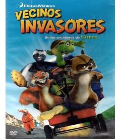 DVD - VECINOS INVASORES - USADA