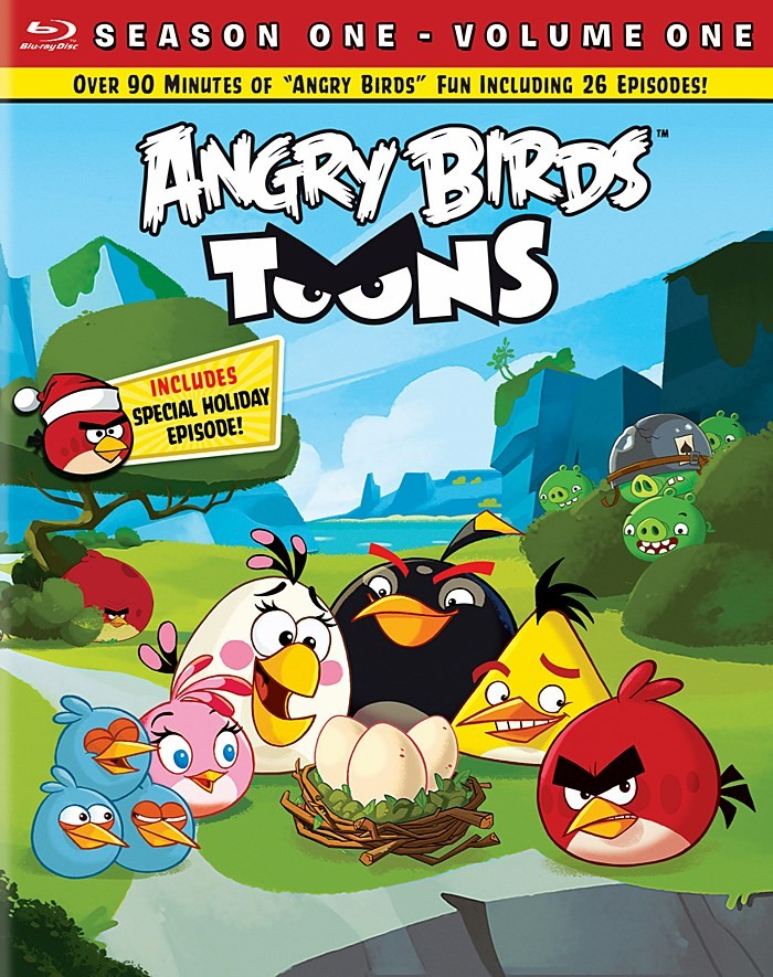 ANGRY BIRDS TOONS - 1° TEMPORADA (VOLUMEN 1)