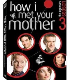 DVD - HOW I MET YOUR MOTHER - 3° TEMPORADA